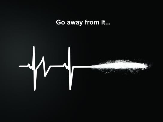 UNODC Print Ad - Stay Away From It