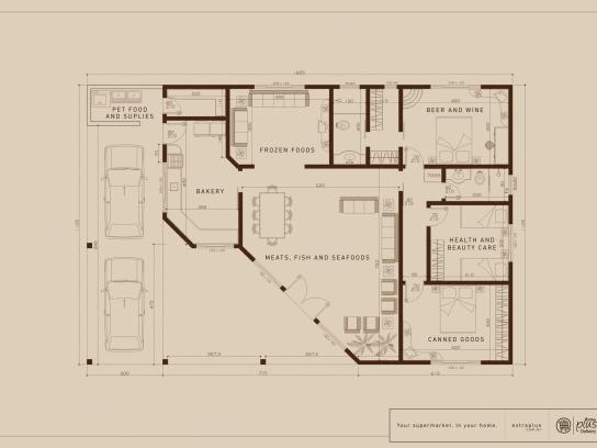 Extraplus Print Ad -  Blueprint