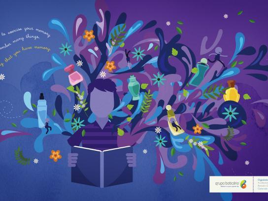 Grupo Boticario Outdoor Ad - Organizational memory space
