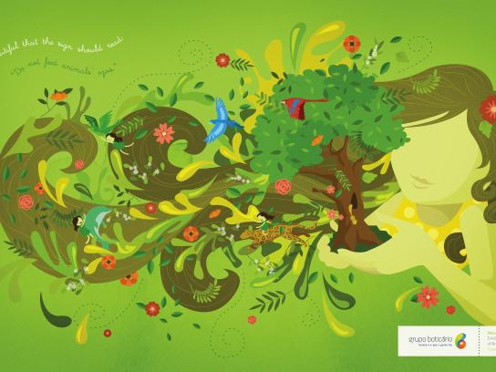 Grupo Boticario Outdoor Ad - Nature seasons