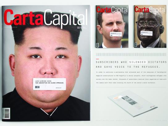 Carta Capital Print Ad - Kim