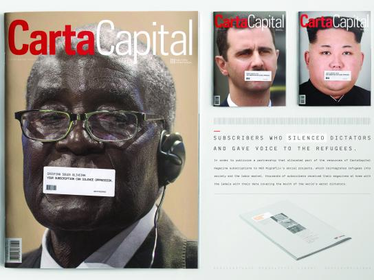 Carta Capital Print Ad - Mugabe