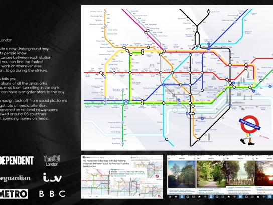 A&J Creatives Digital Ad -  #Walklondon