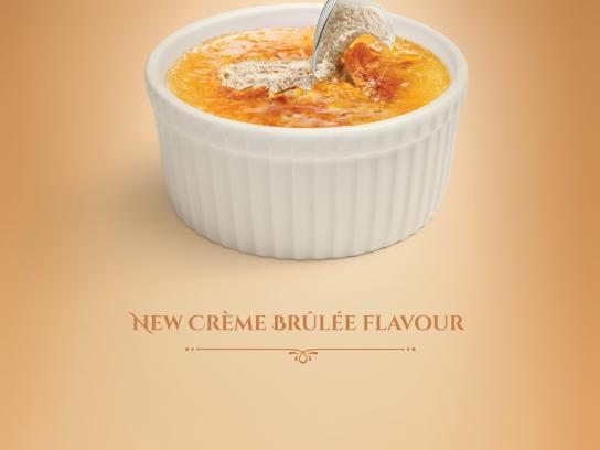 Karaliski Print Ad -  Creme Brulee