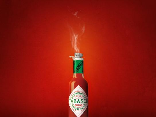 Tabasco Print Ad - Bottle