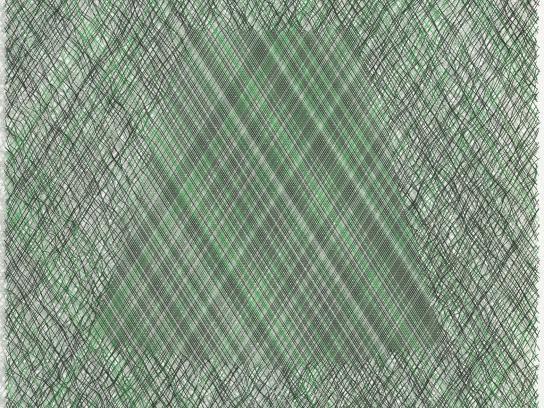 AEG Print Ad -  Green skirt