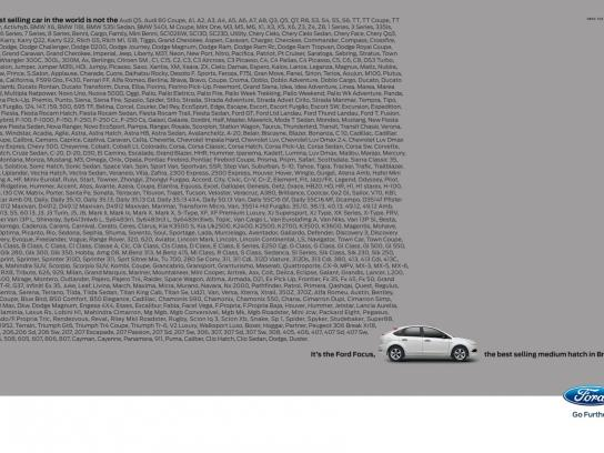 Ford Print Ad -  Best selling