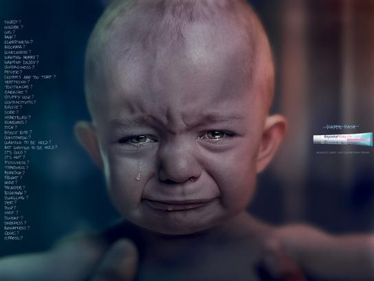 Bepantol Print Ad -  Reasons for crying