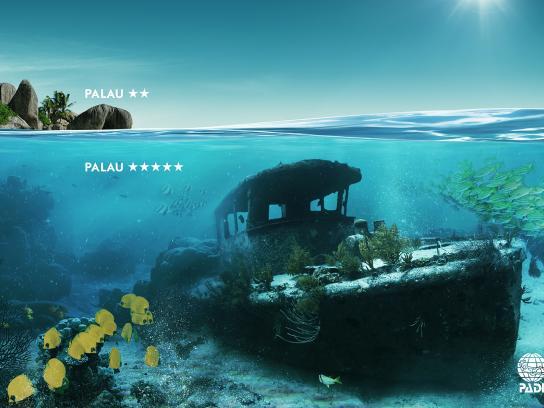 PADI Print Ad -  Palau