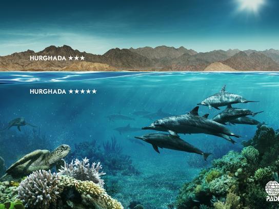 PADI Print Ad -  Hurghada
