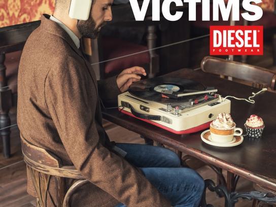 Diesel Print Ad -  Help vintage victims