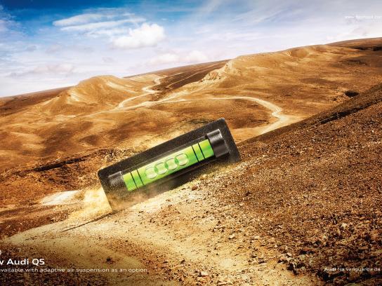 Audi Print Ad - Desert