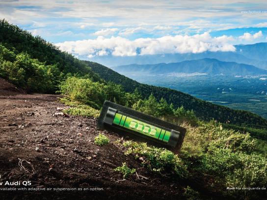 Audi Print Ad - Valley