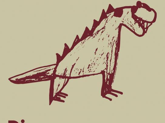 Museum of Natural History Geneva Print Ad - Dinosaurs, 1