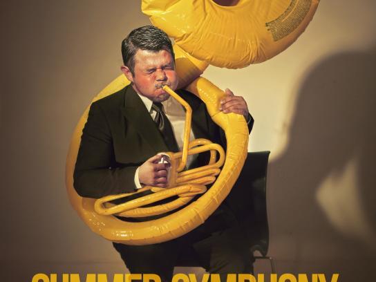 Orquesta Sinfónica Nacional Print Ad -  Summer symphony