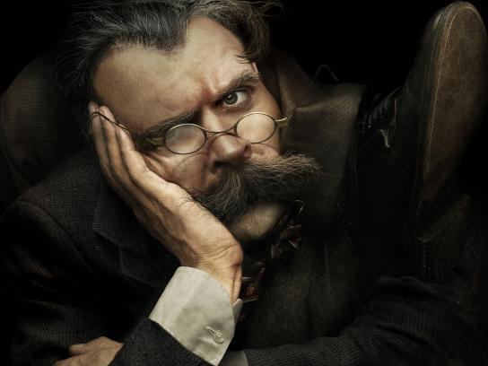 L&PM Print Ad - Contortionists - Nietzsche
