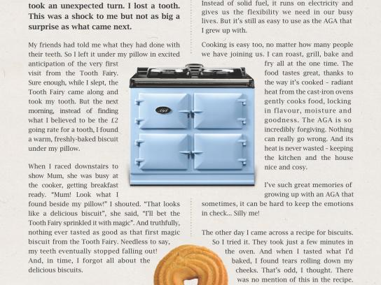 AGA Print Ad -  Emotional Baggage