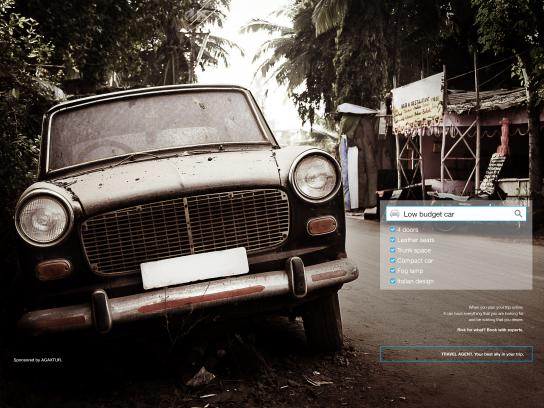 Agaxtur Print Ad - Car