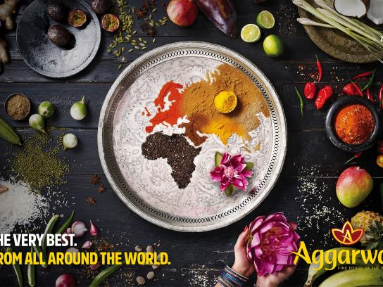 Aggarwal Print Ad - Around the World