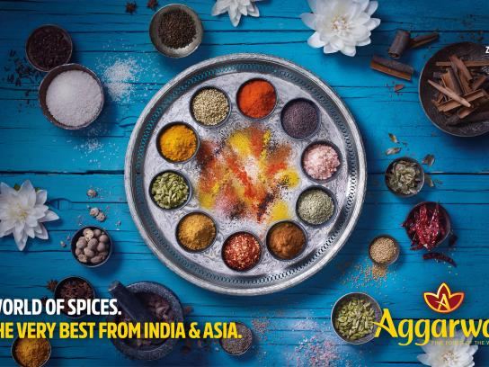 Aggarwal Print Ad - India & Asia