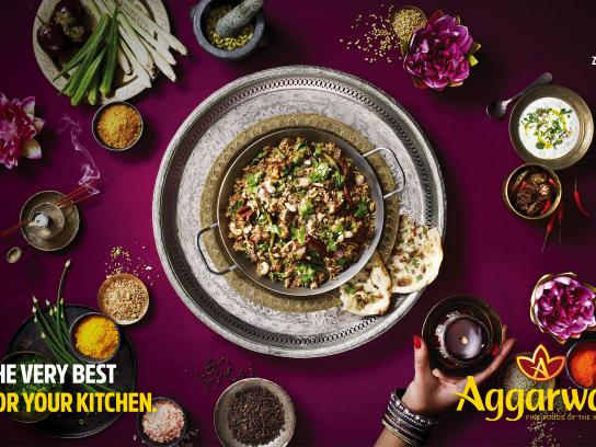 Aggarwal Print Ad - Kitchen