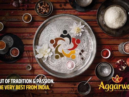 Aggarwal Print Ad - India