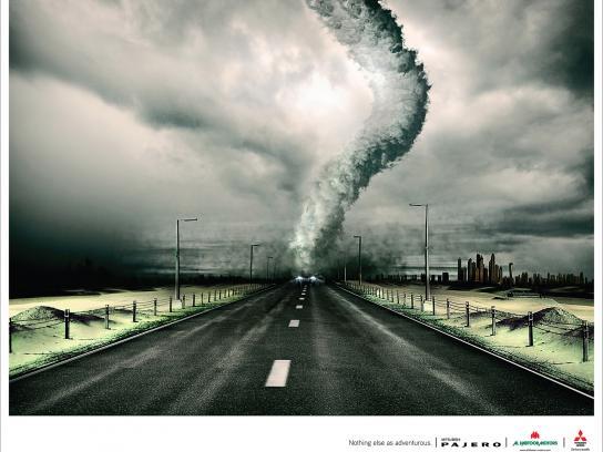Mitsubishi Print Ad -  Tornado
