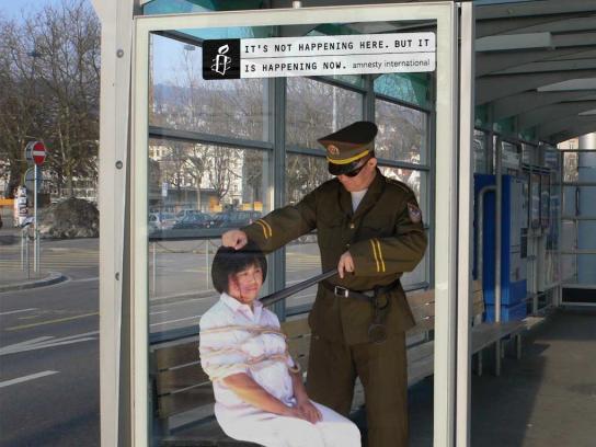Amnesty International Outdoor Ad -  It's happening, 1