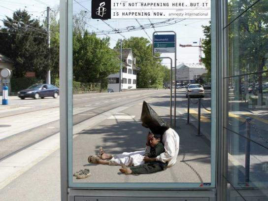Amnesty International Outdoor Ad -  It's happening, 3