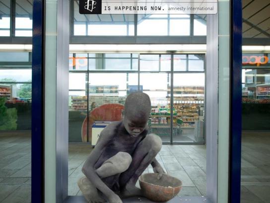 Amnesty International Outdoor Ad -  It's happening, 5