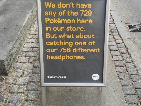 AIAIAI Outdoor Ad - Pokémon no go