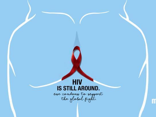 Masculan Print Ad - HIV, 2