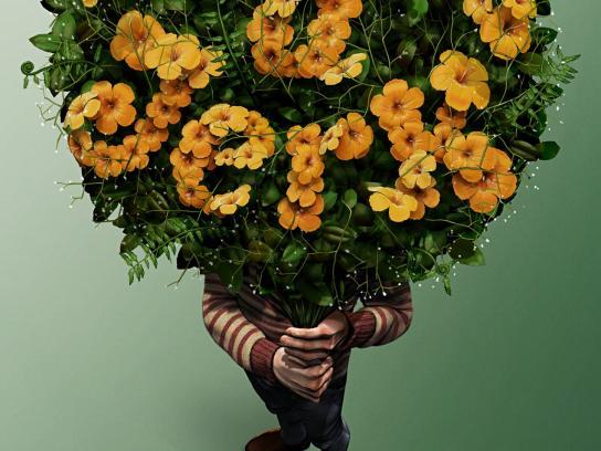 AIMI Flowers Print Ad -  Jerk