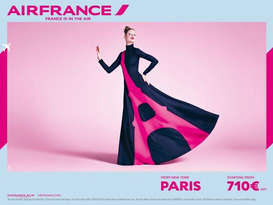 Air France Outdoor Ad -  Dress