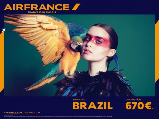 Air France Print Ad -  Brazil