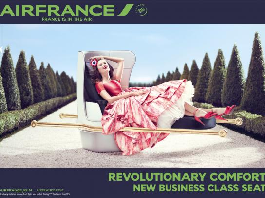Air France Print Ad -  Business