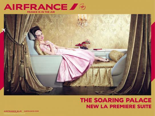 Air France Print Ad -  La Premiere Suite