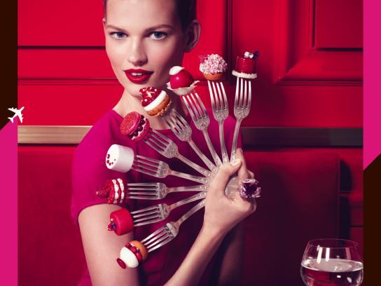 Air France Print Ad -  Gastronomy