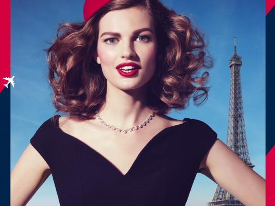 Air France Print Ad -  Paris