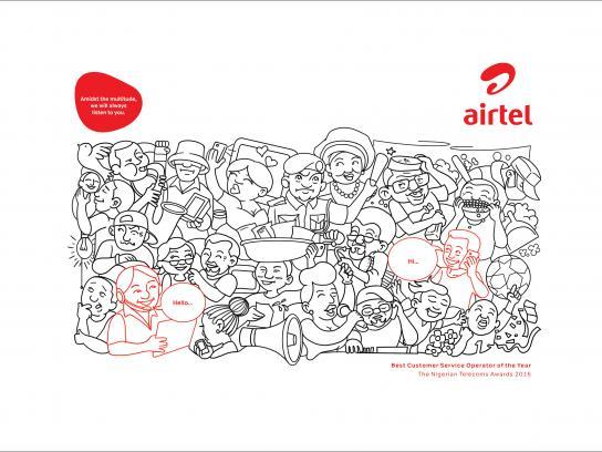 Airtel Print Ad - Westerners