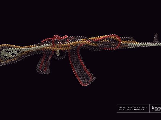 Disque-Denúncia Print Ad - Cords- AK