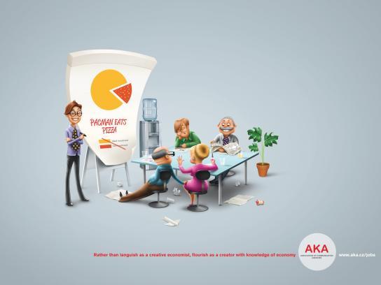 AKA Association of Communication Agencies Print Ad -  Economist