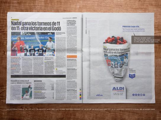 ALDI Print Ad - Fresh