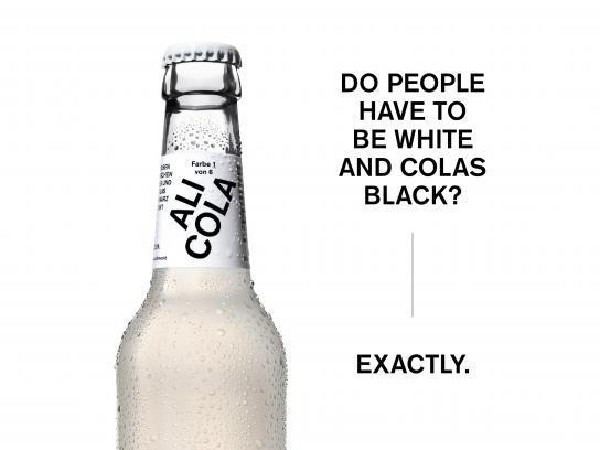 Ali Cola Design Ad - The cola in skin colors, 12