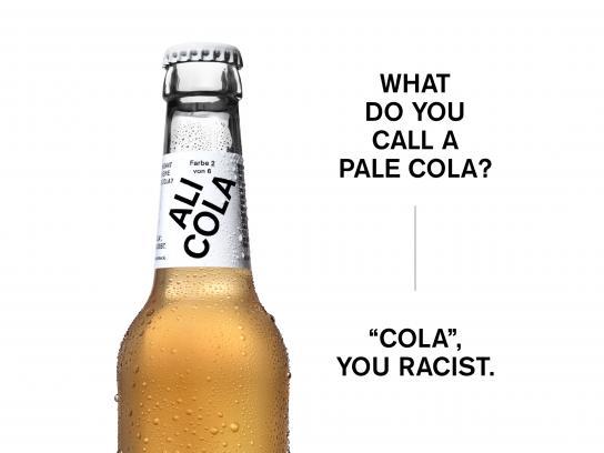 Ali Cola Design Ad - The cola in skin colors, 10