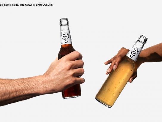 Ali Cola Design Ad - The cola in skin colors, 9