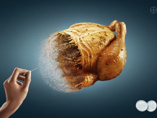 Alka Seltzer Print Ad -  Chicken