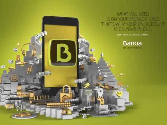 Bankia Print Ad - All