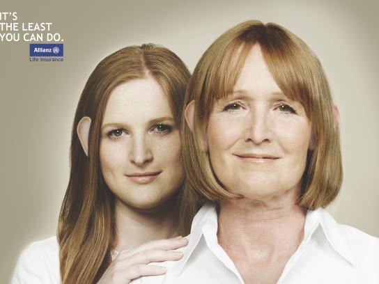 Allianz Print Ad -  Ears