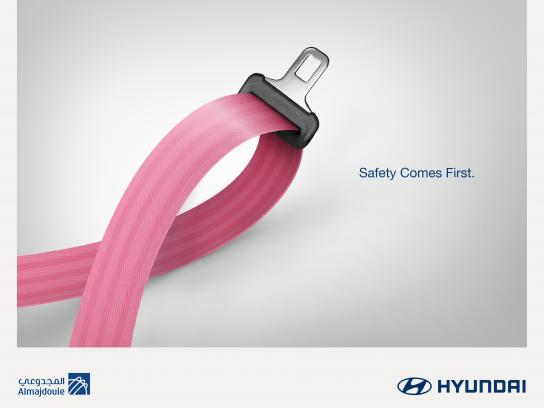Hyundai Print Ad - Breast Cancer - CSR